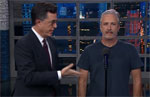 Stephen Colbert brings Jon Stewart to give President Trump his equal time