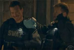 James Corden, SWAT door fail with Michael Fassbender