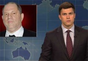 SNL Weekend Update, Weinstein needs to go to prison, Oct 14 2017