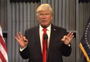 SNL, Trump loves trucks & Bob Corker is a midget! Alec Baldwin, Oct 14 2017