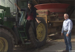 jessica williams on a kansas farm