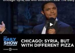 Trevor Noah stand up from Chicago, Cubs and Guns