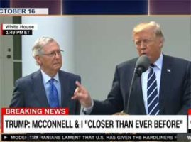 Daily Show Trevor Noah from Rat City, Trump and McConnell pretend not to hate each other