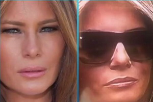 The View - Is Melania Trump Using a Body Double?