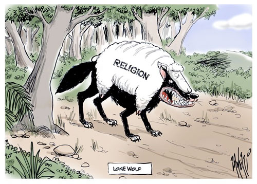 Religion, a wolf in sheep clothing