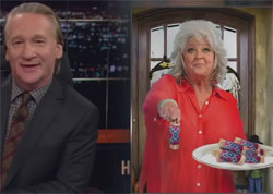 Bill Maher celebrity Halloween treats