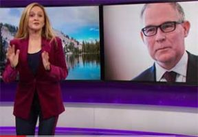 Samantha Bee, war on Scott Pruitt, the environment