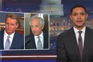 Trevor Noah, the sane Corker and Flake versus the insane tangerine