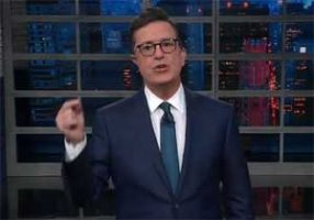 Stephen Colbert Russian Collusion update and the pee pee tape
