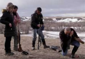 Chelsea Handler goes on a Buffalo hunt with Blackfeet / Siksika Indians