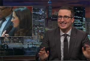 John Oliver: Sophie York opposition to gay marriage in Australia, Garriage