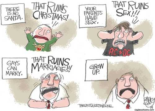 Gay Marriage, Grow up Republicans