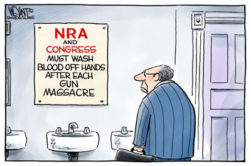 NRA & GOP Please wash you hands!