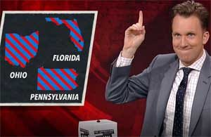Jordan Klepper, Puerto Rico political exodus to swing states Ohio, Pennsylvania and Florida!