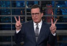 Stephen Colbert, Roy Moore Exonerated because the Virgin Mary was only 14