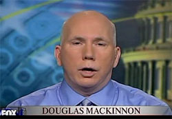 Douglas MacKinnon is a moron