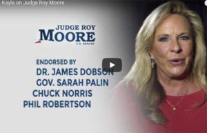 Roy Moore, Alabama White Christians pick a child molester over a Democrat, Rack Jite Op ed