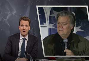 Jordan Klepper, the only one worse than than Roy Moore is Steve Bannon