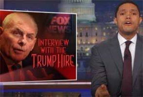 Trevor Noah Lectures Trump Lackey General Kelly on the Civil War