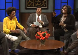 SNL: Blacks discuss Obama