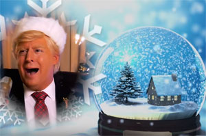 President Trump's Christmas Album! Oh Come all Ye Hateful