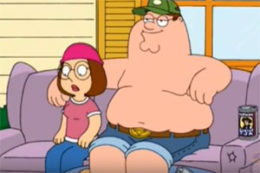 Peter becomes a Redneck, Family Guy