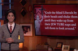 Sarah Silverman helps anti Semites push their heads closer to their a wholes