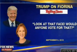 Carly Firona takes down Donald Trump calmly and effectively