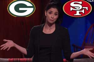Sarah Silverman, our political divide is no different than our tribal sports divide