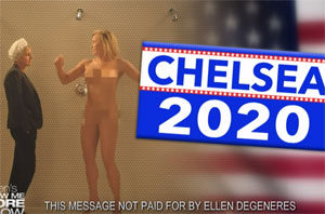 Chelsea Handler for President 2020, on Ellen