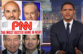 Trevor Noah, the PNN, the Perv News Network