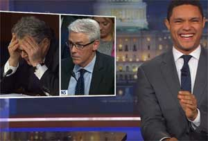 Trevor Noah, Al Franken eats Facebook for lunch