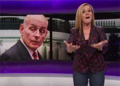 Samantha Bee finds General Kelley is just another dick in the White House
