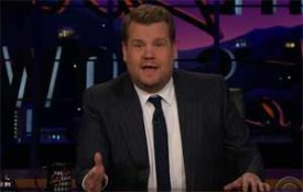 James Corden, America, do something about the guns