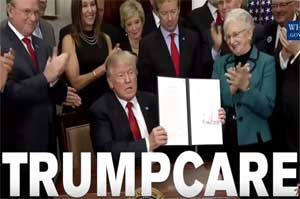 Jimmy Kimmel loves Trumpcare, go sign up now!