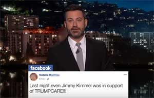 Jimmy Kimmel Trumpcare satire fooled the Trumpers!