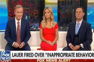 Matt Lauer Fired From NBC, Fox News & Friends wet their pants