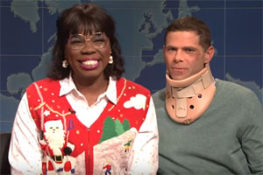 SNL Weekend Update, Leslie Jones does the Kama Sutra