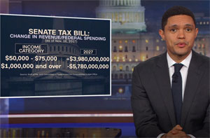 Trevor Noah, needy millionaires get a big tax break!