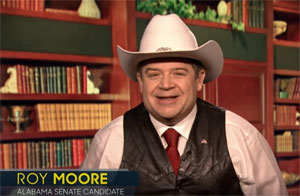 Jimmy Fallon, Patton Oswalt does Roy Moore slogans