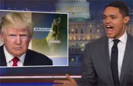 Trevor Noah, Donald Trump brings death and war to the Middle East