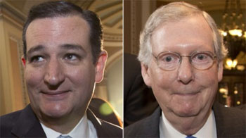 Hotties Ted Cruz & Mitch McConnell