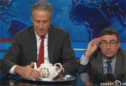 Jon Stewart busy with ROSEWATER replaced by John Oliver