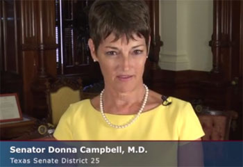 Texas Christian queer hating Dr Donna Campbell