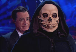 Stephen Colbert Waltzes with the Death of Obamacare