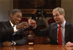 SNL obama and mcconnell get drunk