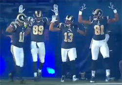 St Louis Rams HANDS UP DONT SHOOT