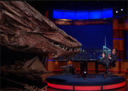 Stephen Colbert interview smaug