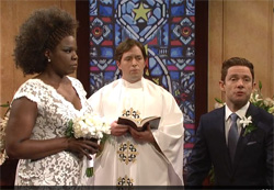 SNL Wedding objections