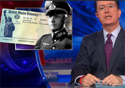 thank the NAZIS, Stephen Colbert